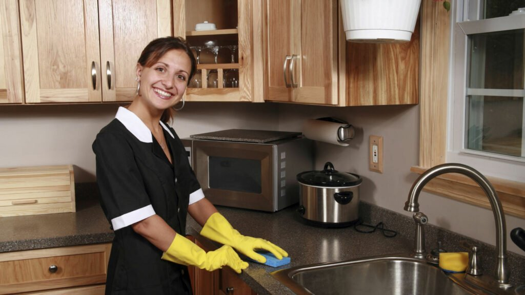 народные методы мытья кухни
